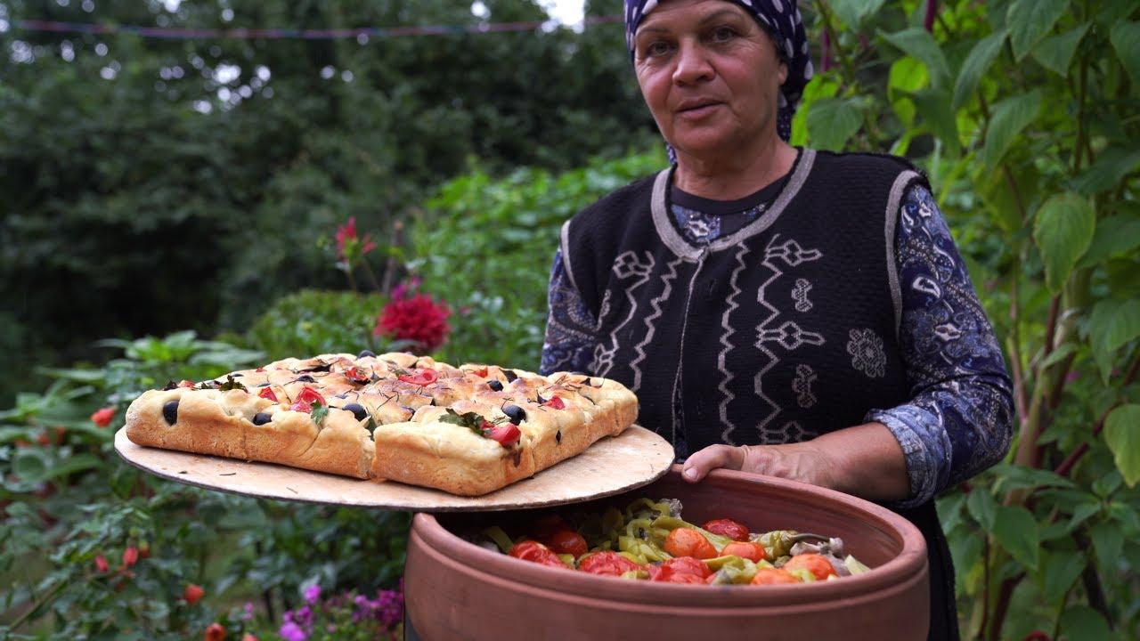 Making Azerbaijani Lamb Stew and İtalian Focaccia Bread