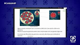 A ciência por trás das máscaras - Palestras on-line Instituto de Biociências (IB)