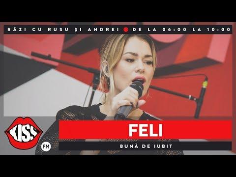 Feli - Buna de iubit (Live @ Kiss FM)