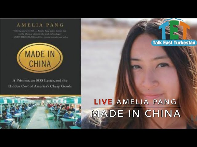 LIVE: Amelia Pang, Author of Made in China.
