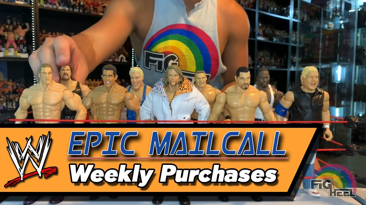 Epic Mailcall of Weekly Purchases! A ton of WWE Jakks Ruthless Aggression figures and more!