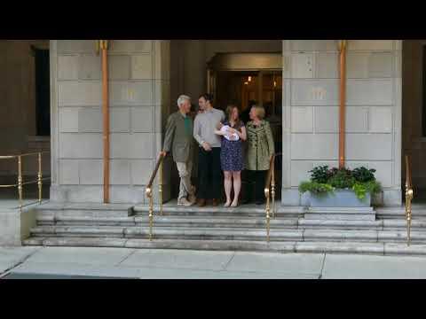 2016-06-20 -  Chelsea Clinton, baby Aidan, Bill and Hillary Clinton and Marc Mezvinsky