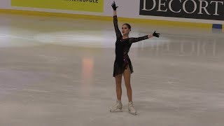 Alina Zagitova International GP France 2019 SP WU