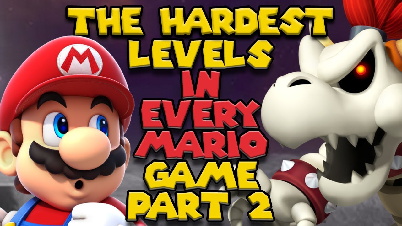 Even Harder Levels in Every Mario Games