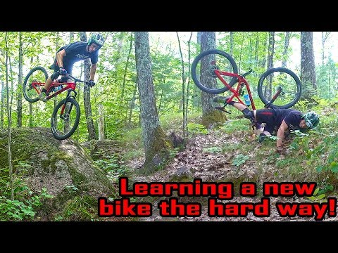 Wisconsin MTB Rocks?! New Bike Day at Nicholet Roche on the Ghost SLAMR X 7.9
