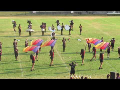 Anniston High School Marching Band | Field Show | Anniston {2019} Battle Of The Bands |
