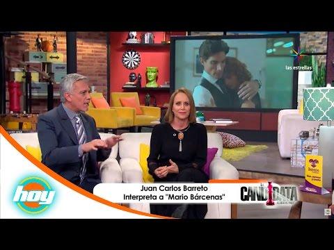 Luz María Jérez y Juan Carlos Barreto serán un matrimonio explosivo en La Candidata | Hoy
