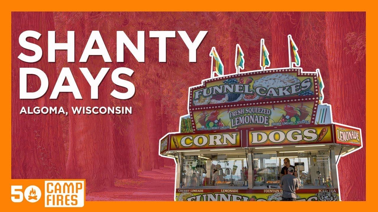 Shanty Days Algoma Wi Lake Michigan Festival Youtube