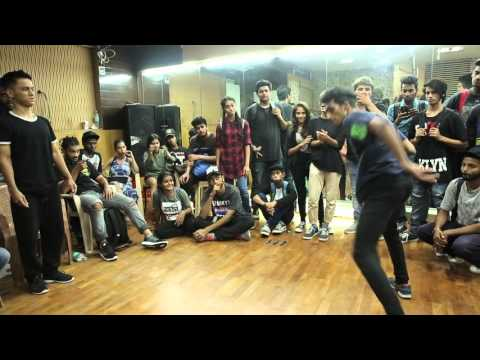 House finals Prithvi vs Ronnie @Mumbai HipHop Locals vol2 winner Prithvi