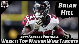 2019 Fantasy Football Rankings - Week 11 Top Waiver Wire Players To Target