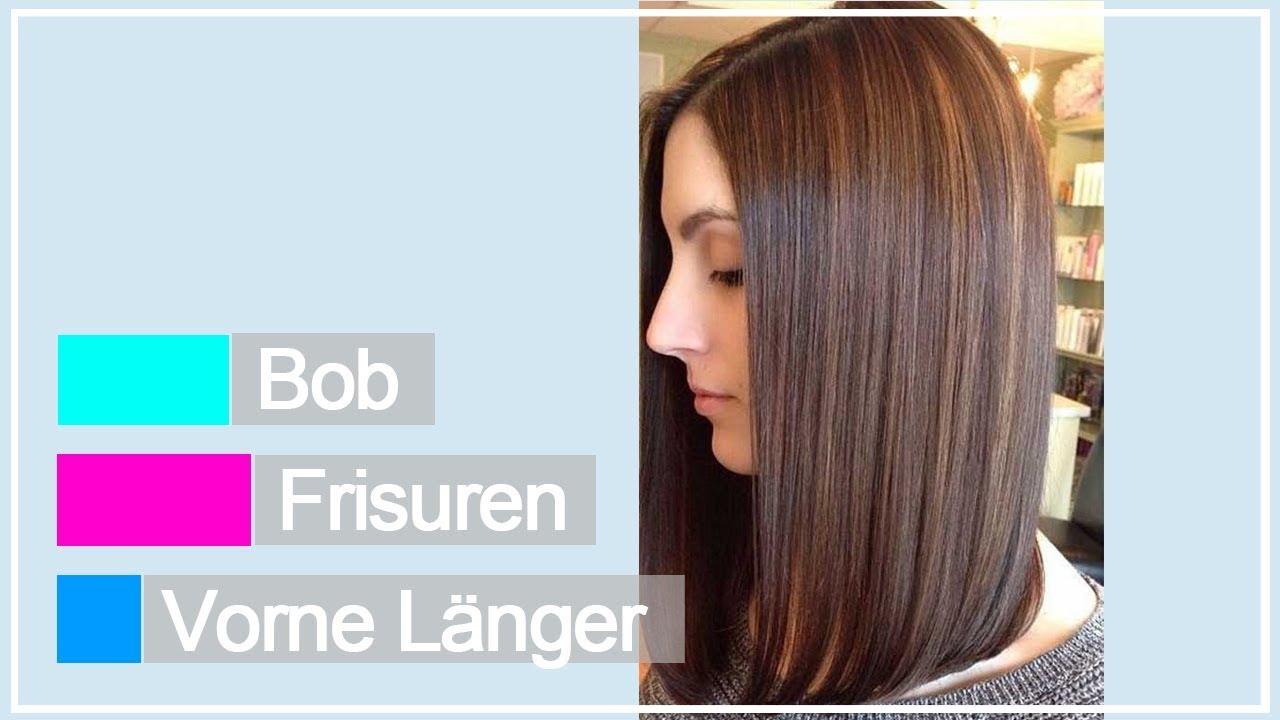 Bob Frisuren Vorne Länger