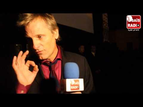 EXCLUSIVE VIGGO MORTENSEN SUR RADIO SAIS A FIFM 2014 A MARRAKECH