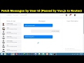 #2 Private Chat system | Messenger in vue.js | Social networking site in laravel 5.4 & vuejs