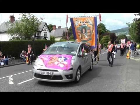 City of Belfast 12th July 2016 parade (Balmoral Ave)
