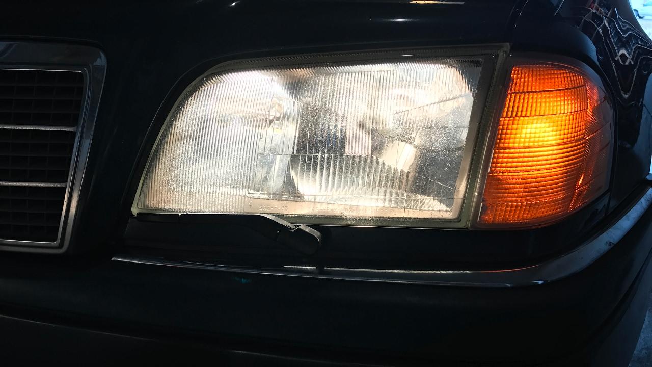 Headlight Lens Replacement Repair - Broken Glass - Mercedes