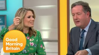 Charlotte Vs Piers Coin Toss | Good Morning Britain
