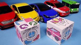 헬로카봇 큐브 만들기 making Hello Carbot Cube