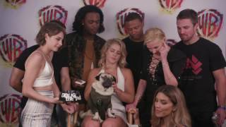 Doug the Pug Interviews ARROW at Comic-Con 2017 #WBSDCC