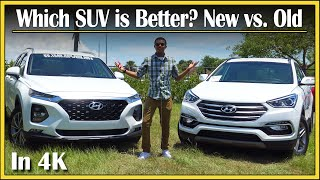 2019 vs. 2018 Hyundai Santa Fe Review (DETAILED) SUV Comparison | Which SUV is Better? | In 4K UHD!