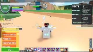 Roblox DragonBall FA how to do Mega Obliberation