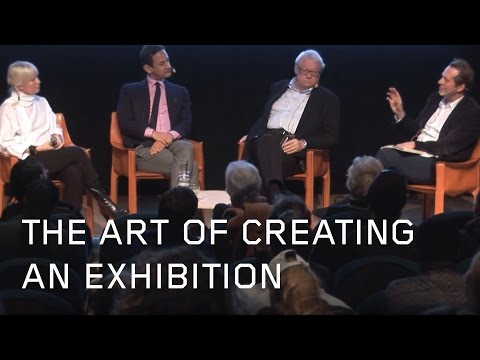 The Art of Creating an Exhibition: Jens Hoffmann, Olle Granath & Daniel Birnbaum