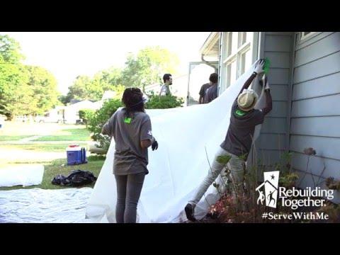 #ServeWithMe – Rebuilding Together AmeriCorps