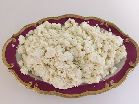 How To Make Cottage Cheese In 10 Minutes / Homemade Cottage Cheese