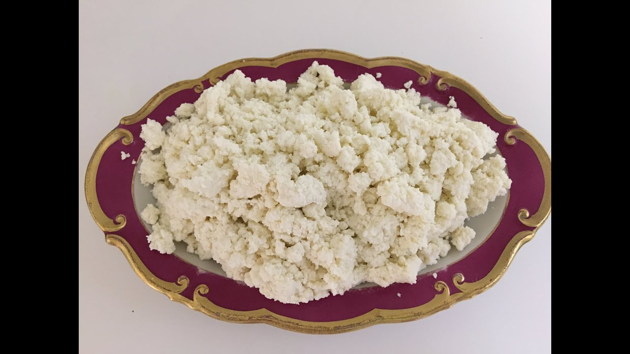 How To Make Cottage Cheese In 10 Minutes Homemade Cottage Cheese Youtube