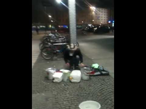 Street music in Leipzig