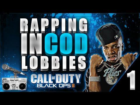 Fliqa & Codfish - RAPPING IN COD LOBBIES !! (Black Ops 2)
