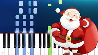 Feliz Navidad  - Christmas Song (Piano Tutorial)
