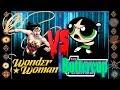 Wonder Woman (DC Comics) vs Buttercup (Cartoon Network) - Ultimate Mugen Fight 2017