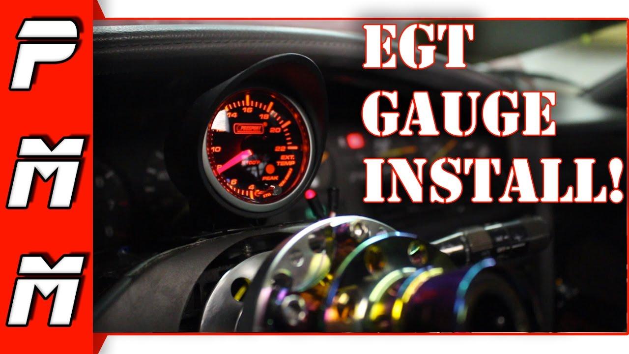 Glowshift Egt Gauge Wiring Diagram Dometic Awning Parts 2 8 Kenmo Lp De Installation 1jzgte Mkiii Supra Prosport Exhaust Gas Rh Youtube Com Aircraft