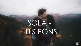 Gambar cover Luis Fonsi - Sola (Letra)