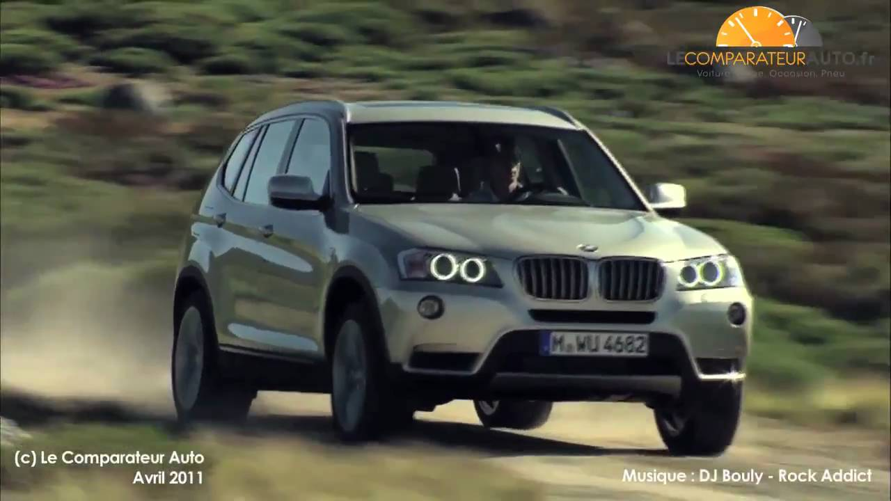 essai bmw x3 test du nouveau bmw x3 2011 en vid o youtube. Black Bedroom Furniture Sets. Home Design Ideas