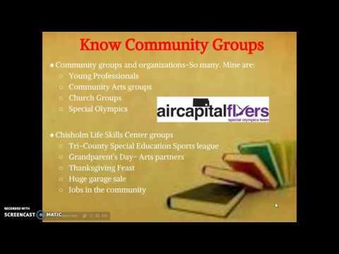 Understanding My Community-Chisholm Life Skills Center