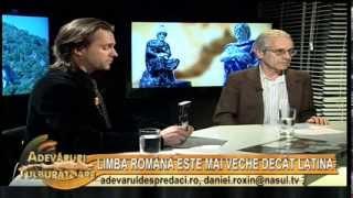 Limba română este mai veche decât latina - 22.03. 2013