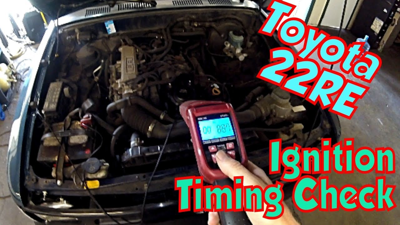 22RE Toyota Ignition Timing Check