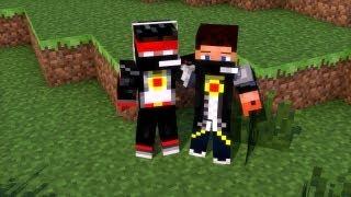 MineCraft [Прохождение карты] -  Приключение двух друзей