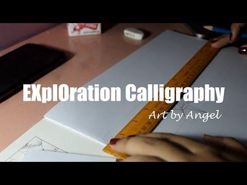 #4 EXplOration CALLIGRAPHY (EXO PLANET 5!!!!!!)