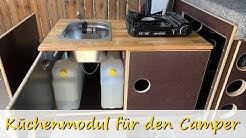Küchenmodul für den VW T5/6 Camper selbst bauen // Camper Umbau // Teil 15 // Eigenbau // Campervan
