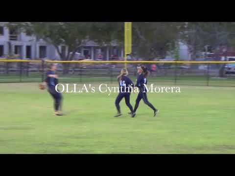 The Catch - OLLA Softball's Cynthia Morera vs Immaculata La Salle High School
