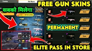 HOW TO GET FREE ALL GUN SKINS PERMANENT IN FREE FIRE || FREE FIRE NEW YEAR EVENT DETAILS