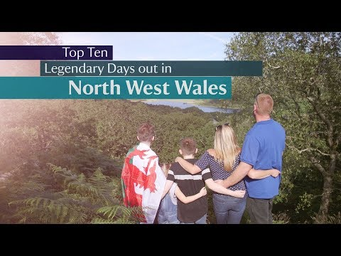 National Trust -  Top 10 Days out in North West Wales