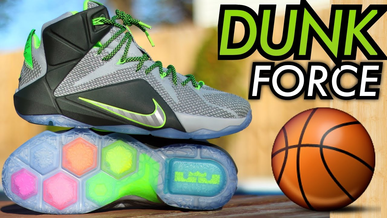 0015a7f8208 ... wholesale dunk force nike lebron 12 w on feet review youtube 88ae2 42647