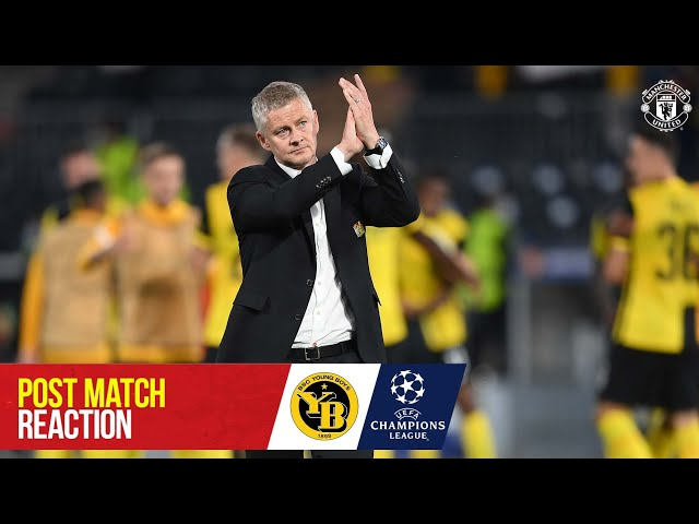 Solskjaer & Maguire react to late defeat | Young Boys 2-1 Manchester United | UEFA Champions League