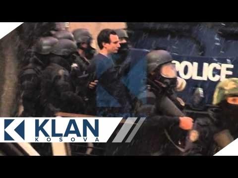 Momenti i arrestimit te Albin Kurtit - 28.11.2015 - Klan Kosova
