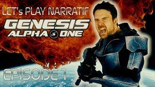 (Let's play Narratif) - Genesis Alpha One - Episode 1: A la recherche de la nouvelle Terre