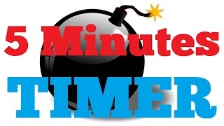 5 minutes Countdown Timer Alarm Clock