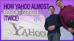 How Yahoo Failed to Buy Google (Twice!)